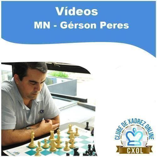 Videoaula Estratégia Moderna no Xadrez: Volume 3 - Treino 3 (MN Gérson Peres)