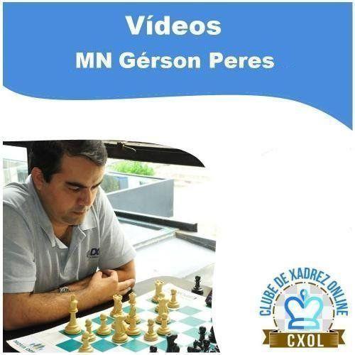 Videoaula Estratégia Moderna no Xadrez: Volume 3 - Treino 4 (MN Gérson Peres)