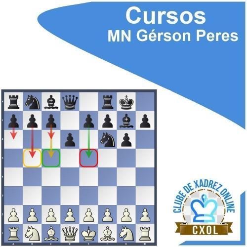 Curso Dominando a Defesa Índia do Rei: Volume 3 - MN Gérson Peres