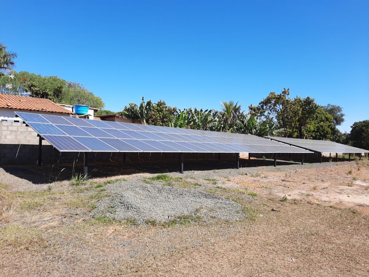 Instalação Usina Solar Fotovoltaica Poço 2