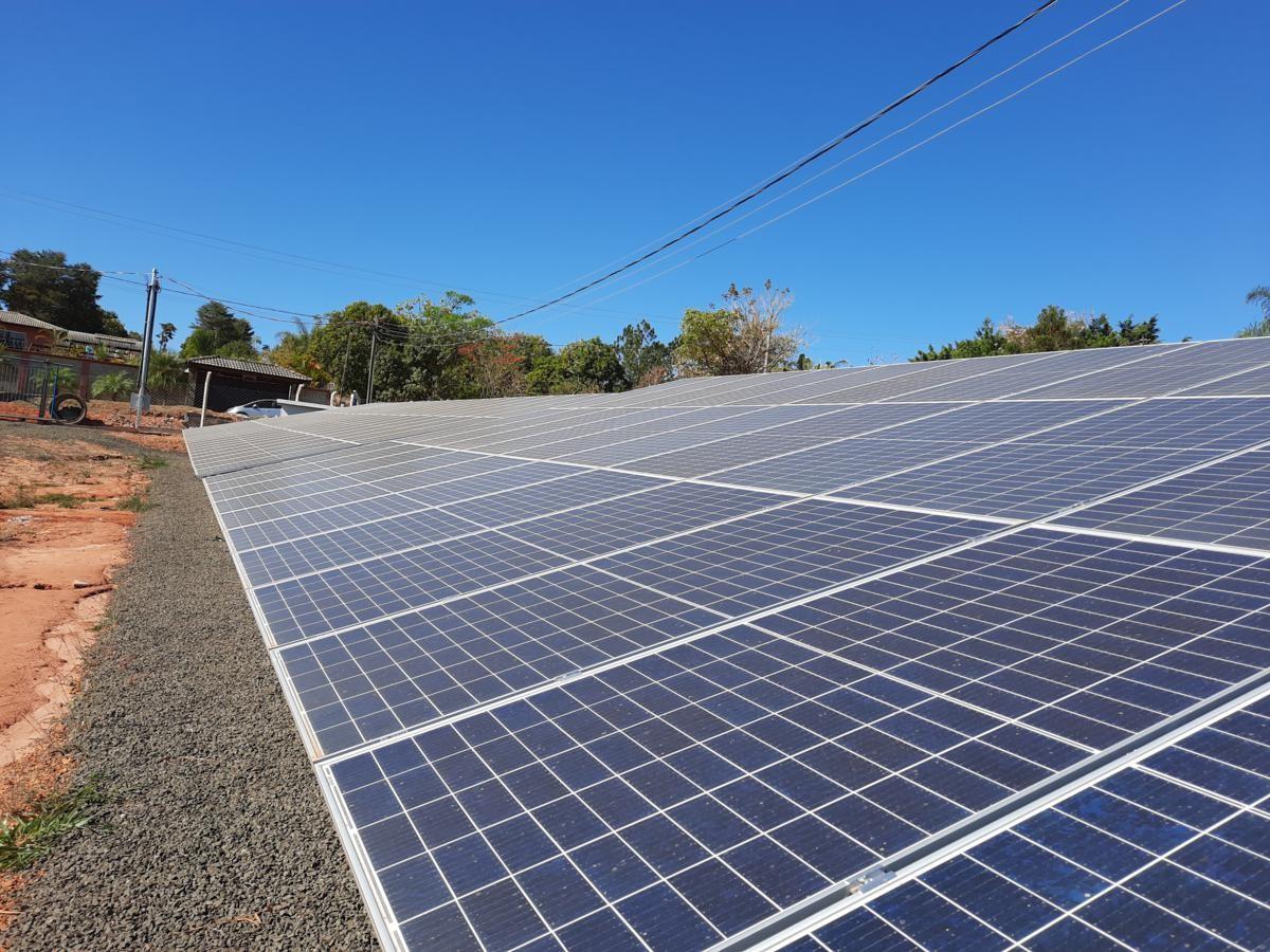 Instalação Usina Solar Fotovoltaica Poço 1