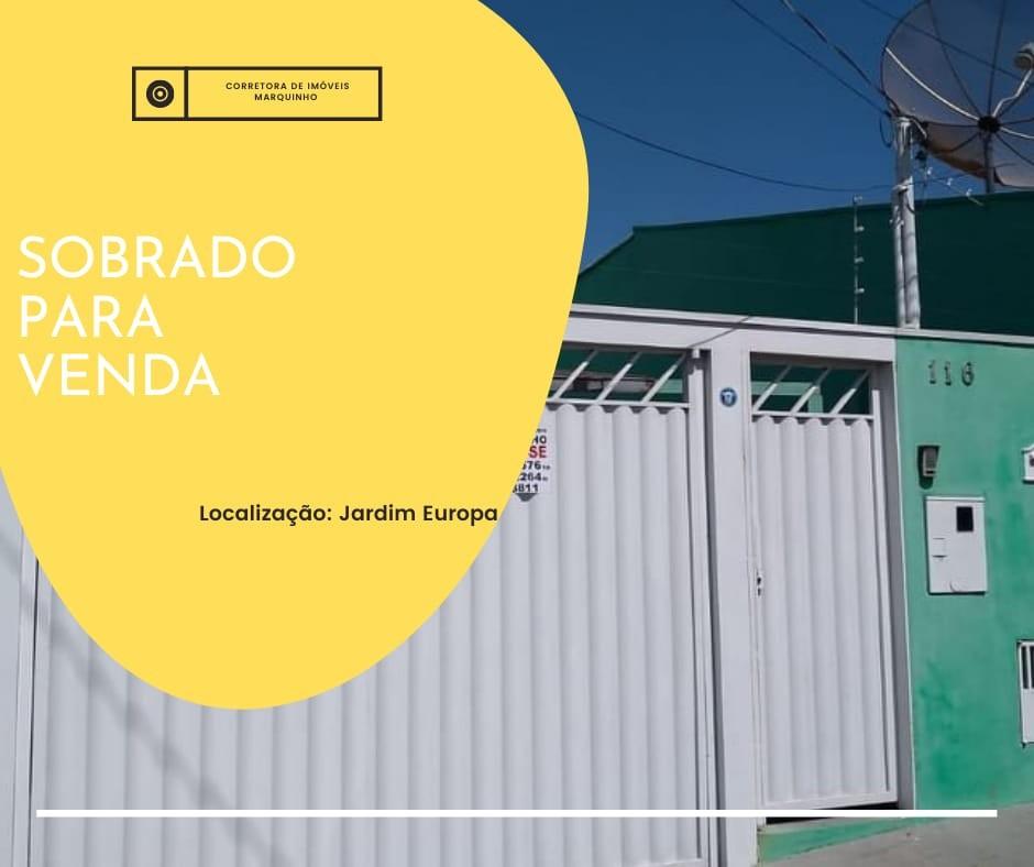 SOBRADO - JARDIM EUROPA