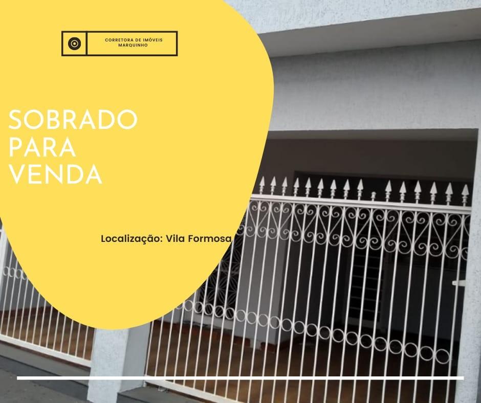 SOBRADO - VILA FORMOSA