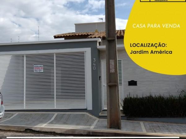 CASA PARA VENDA - JARDIM AMERICA