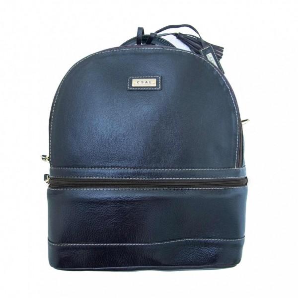 Mochila/Bolsa Bag Couro - Feminina - M1337