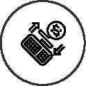 Registra transações no varejo