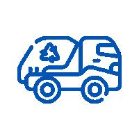 Transporte licenciado de resíduos sólidos industriais classe I e classe II A e B e de resíduos de serviço de saúde