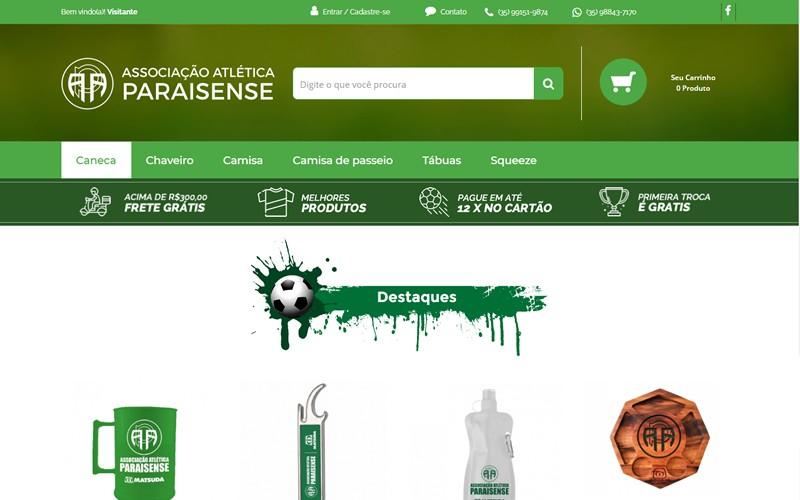 .:: Associação Atlética Paraisense - Loja ::.