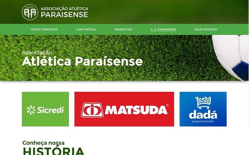 .:: Associação Atlética Paraisense - site ::.