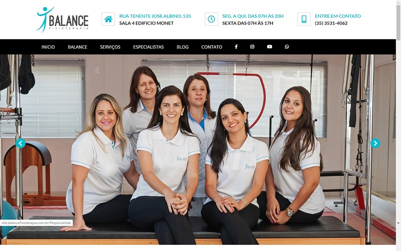 .:: Balance Fisioterapia ::.