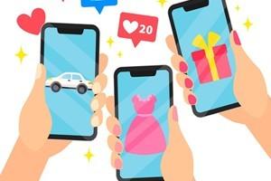 .:: Compras por aplicativos crescem 5 vezes mais que vendas em lojas físicas ::.