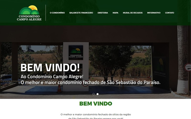 .:: Condomínio Campo Alegre ::.
