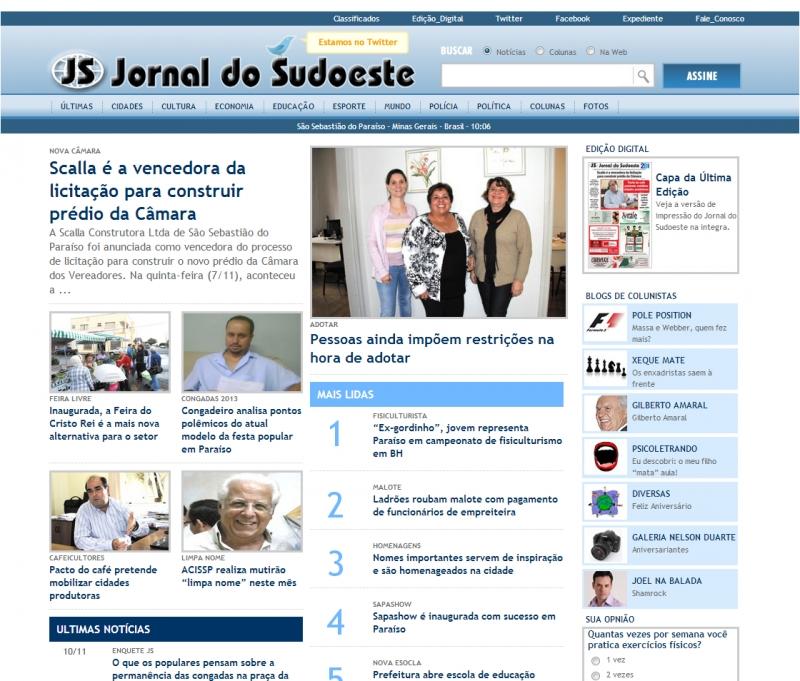 .:: Jornal do Sudoeste ::.