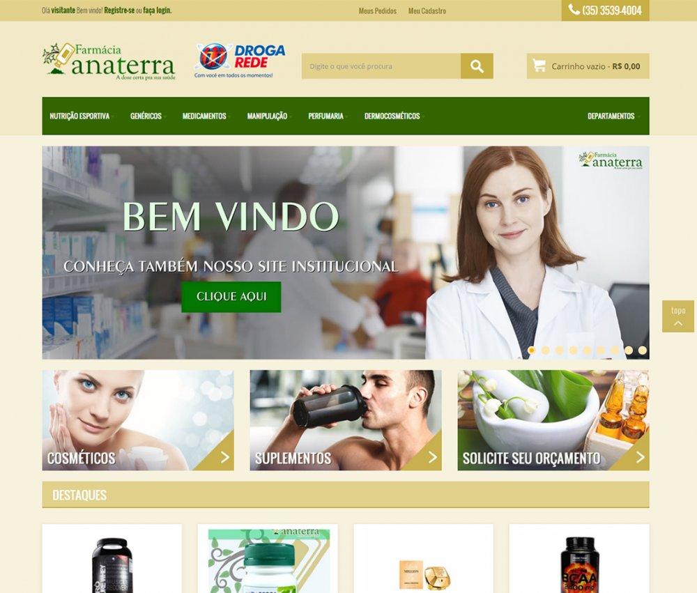 .:: Farmácia Ana Terra - Loja Virtual ::.