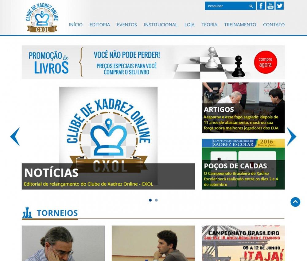 .:: Clube de Xadrez Online - CXOL ::.