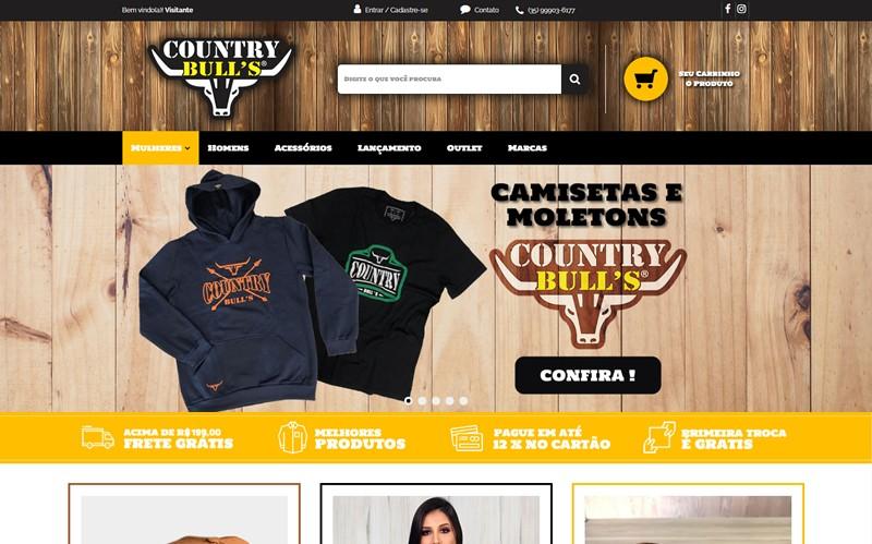.:: Loja Country Bull's ::.