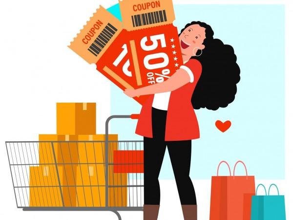 Cupons de desconto geram R$ 6 bilhões no e-commerce em 2020