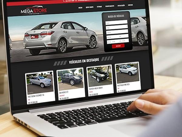 Loja de revenda de veículos online