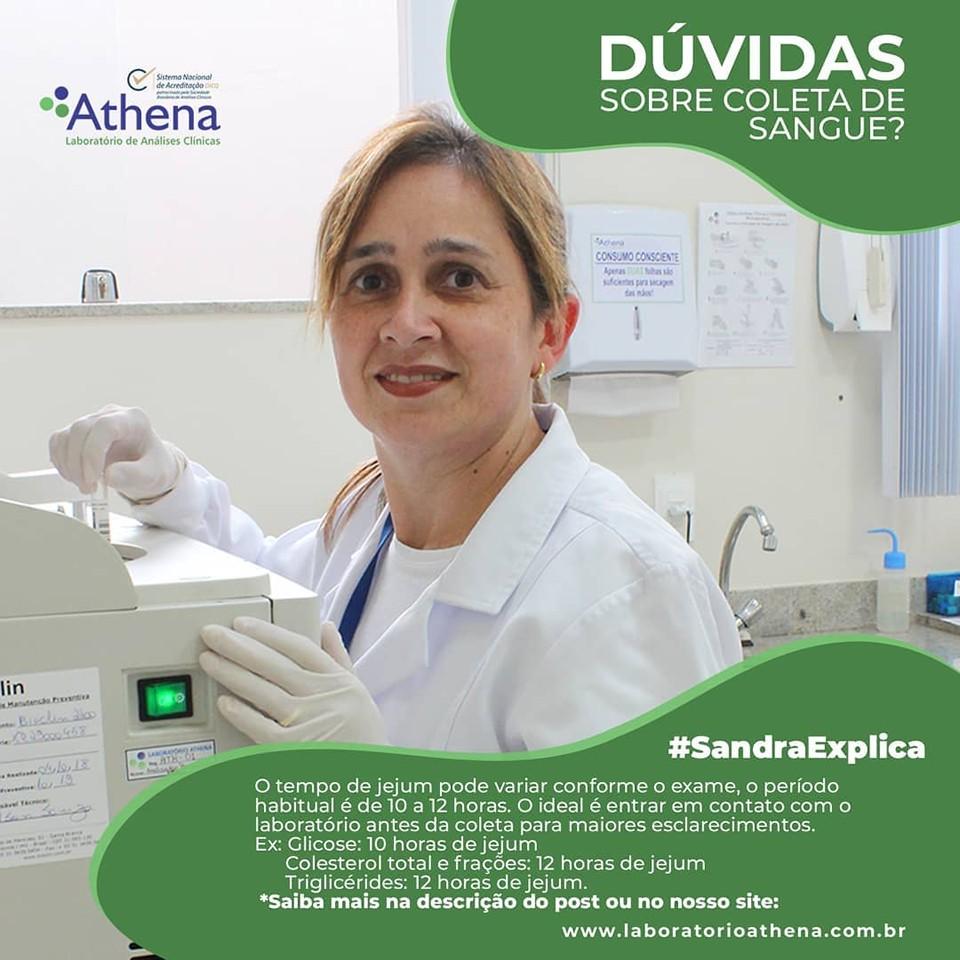 Dúvidas sobre a Coleta de sangue? A Sandra explica para você!