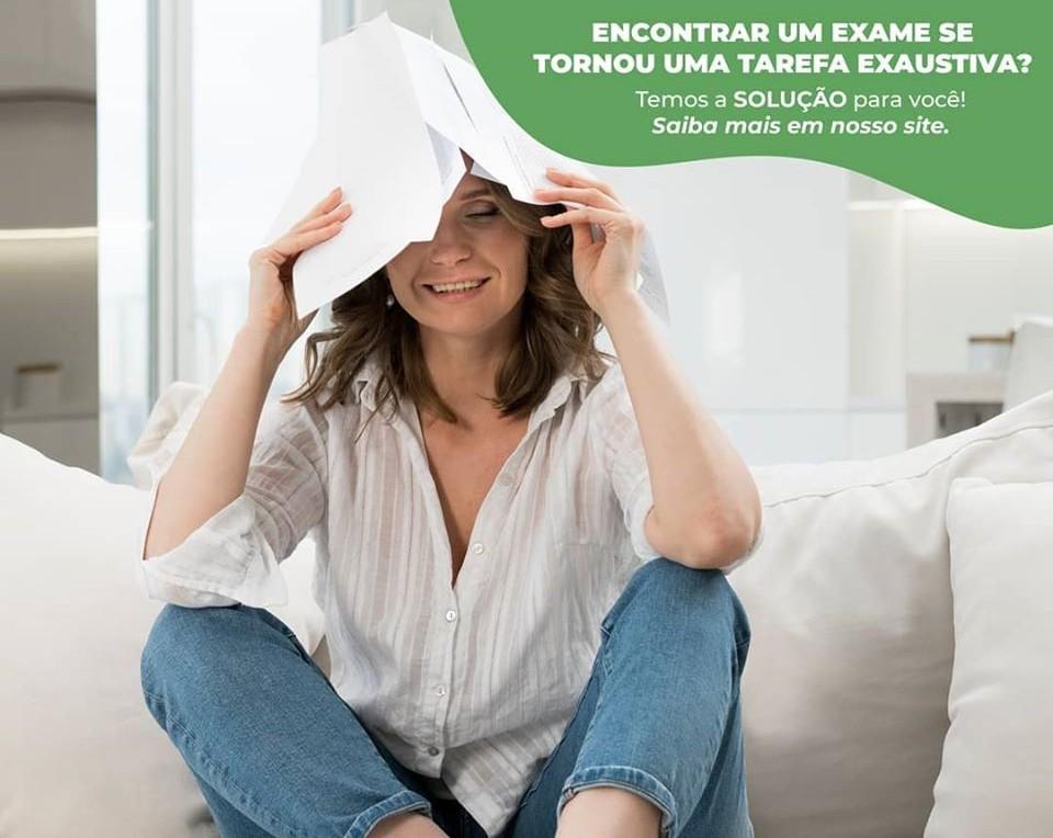 Encontrar um exame se tornou uma tarefa exaustiva ?