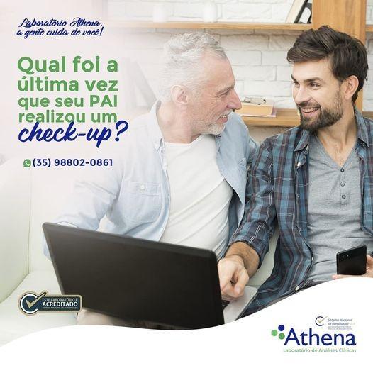Qual foi a última vez que seu PAI fez um check-up completo de exames para cuidar da saúde dele?