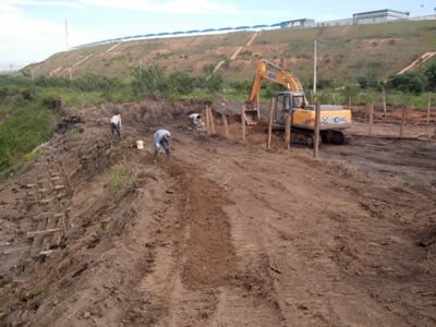 Obras para Contenção de Erosão