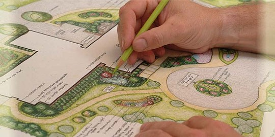 Elaboração e execução de projetos de paisagismo urbano