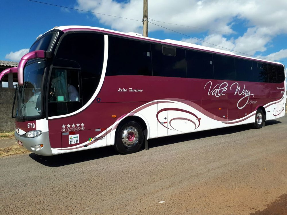 Ônibus Paradiso 1200 G6 - Leito Turismo Master
