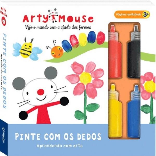 Arty Mouse Pinte com os Dedos
