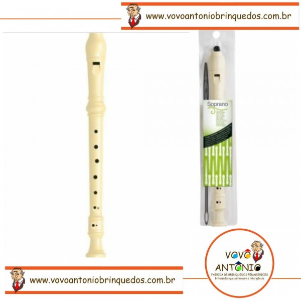 Flauta Infantil Plástica Moderna