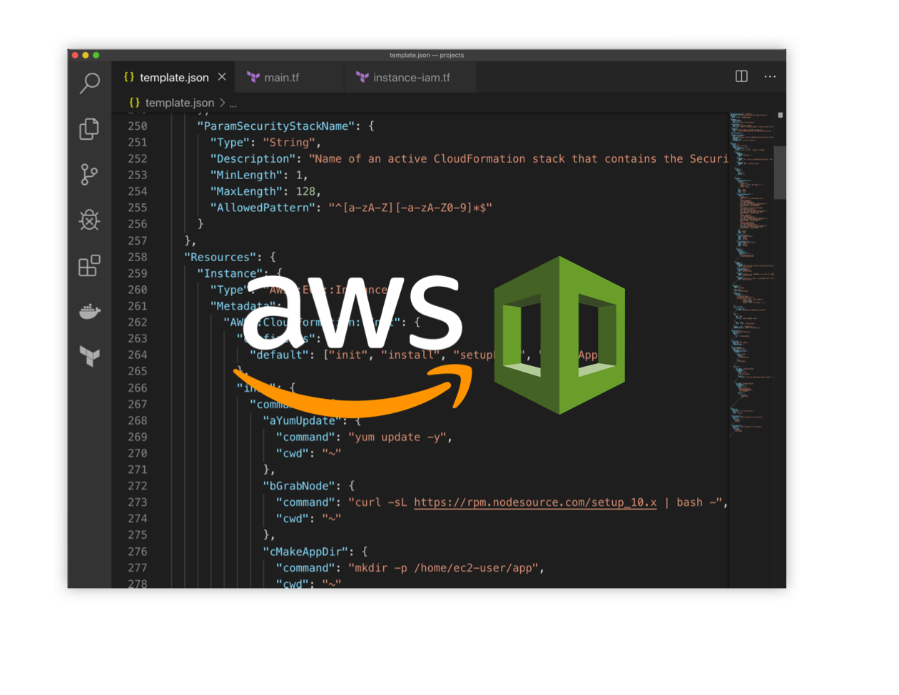 learn AWS's stable and battle tested infrastructure as code tool