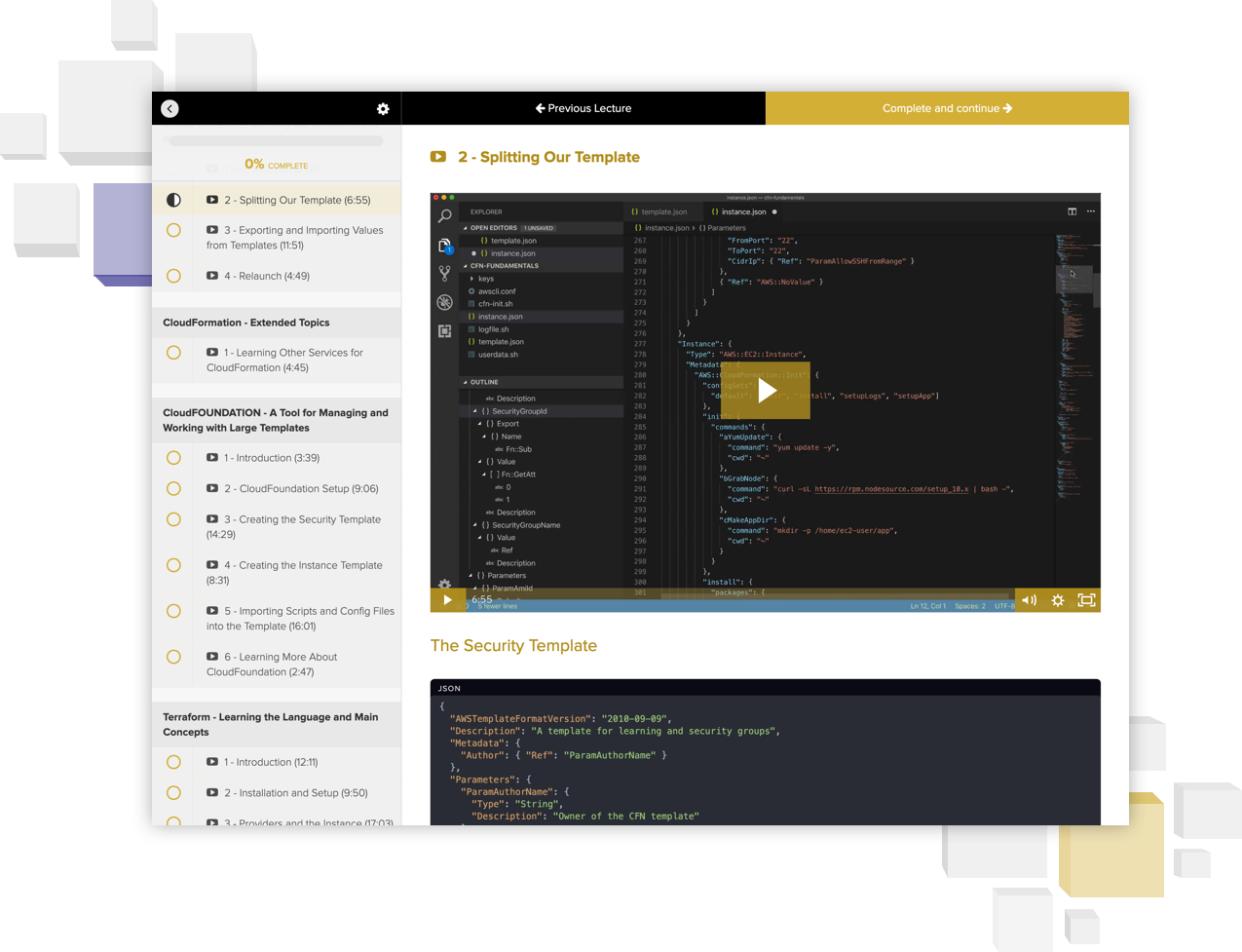 everything you need to know about infrastructure as code on AWS in one place