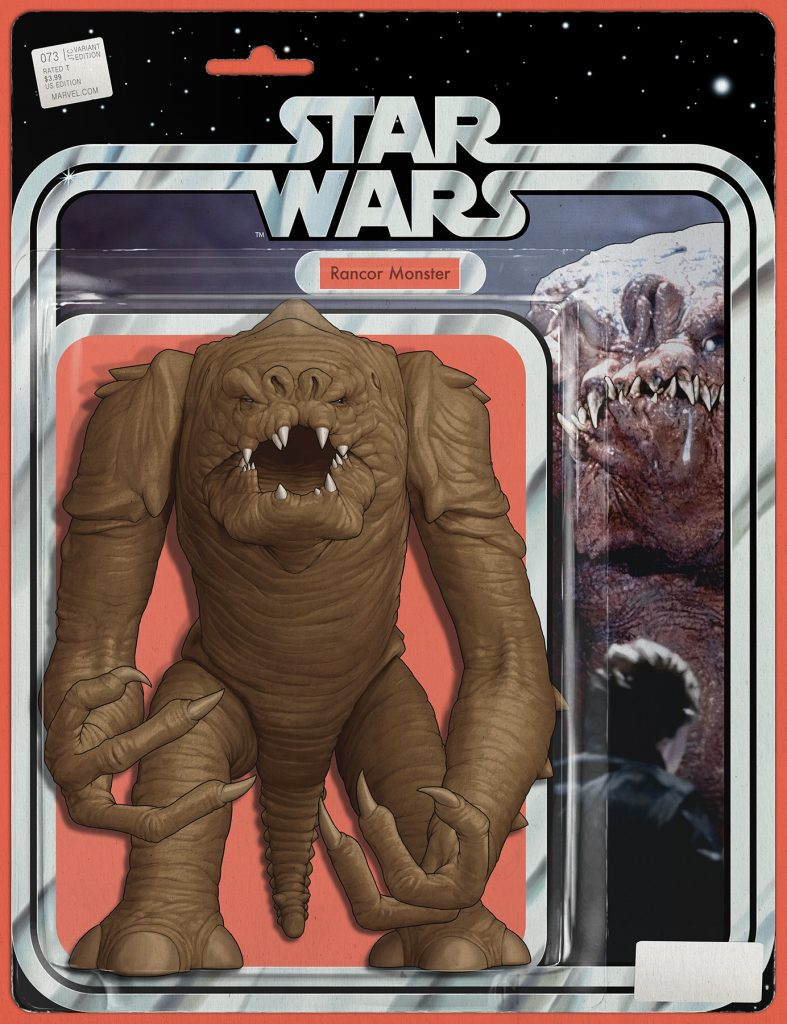 RANCOR MONSTER (WRAPAROUND) Action Figure Variant for Star Wars #73