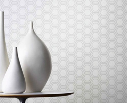 FEATURE WALL EchoPanel® Hex #444
