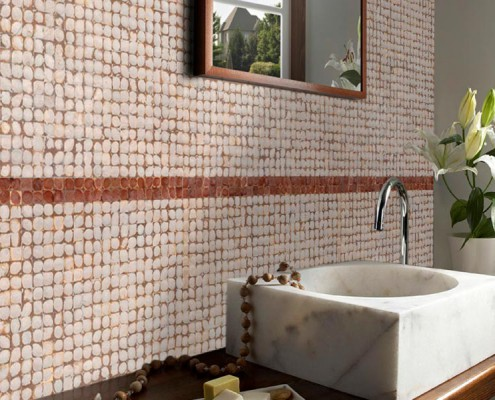 BACKSPLASH Boutique Hotel Java Collection Yogya White Losari Leather