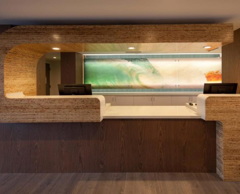 Reception Desk • Kirei Board
