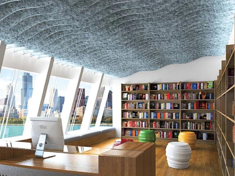 Decorative Acoustic Ceiling Panels