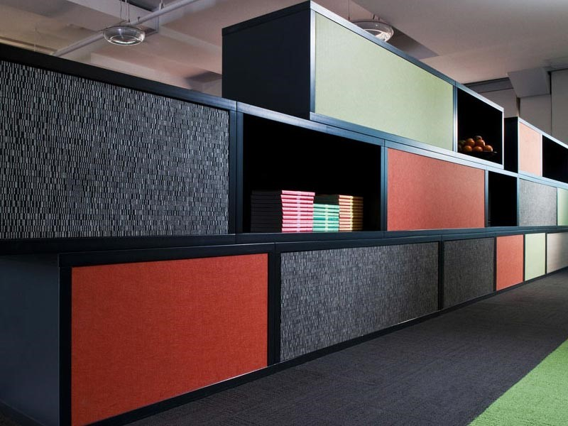 Functional Sheves Acoustic Panels