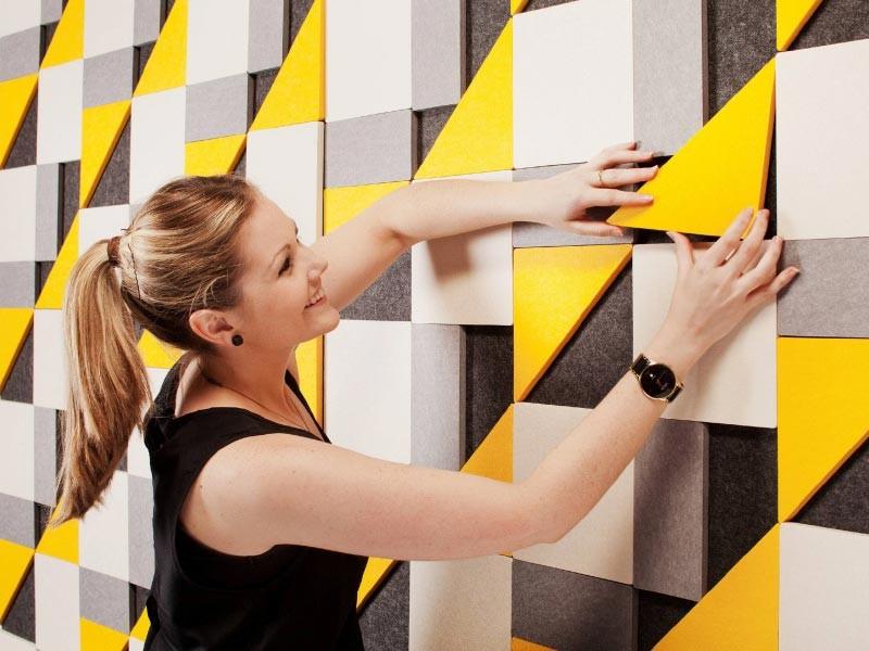 Geometric Tiles Acoustic Panels
