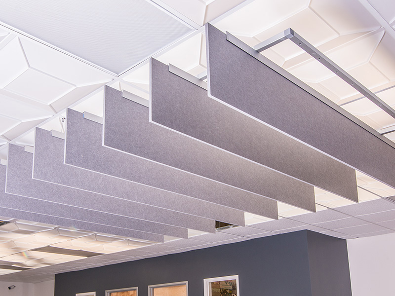 Acoustic Baffles For Ceilings And Walls Echopanel Systems