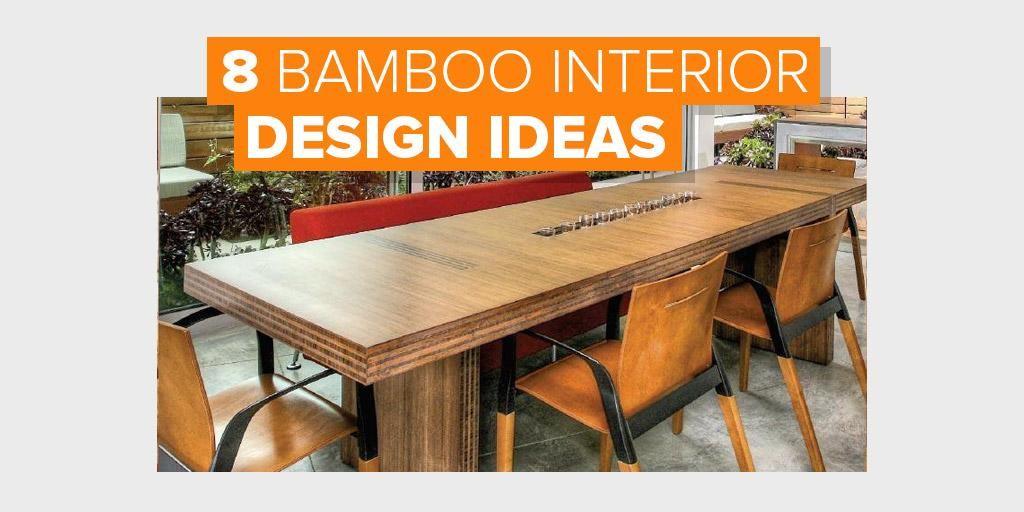 bamboo interior design ideas