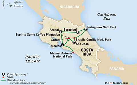Costa rica a world of nature national park traveller package summary gumiabroncs Gallery