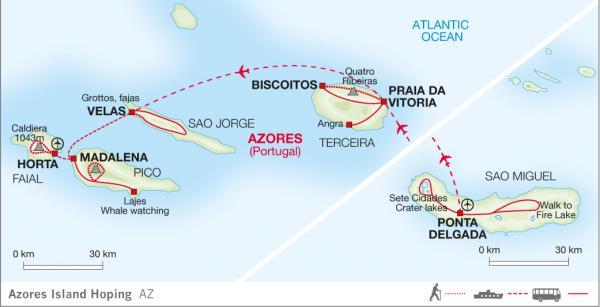 Azores Island Hopping National Park Traveller