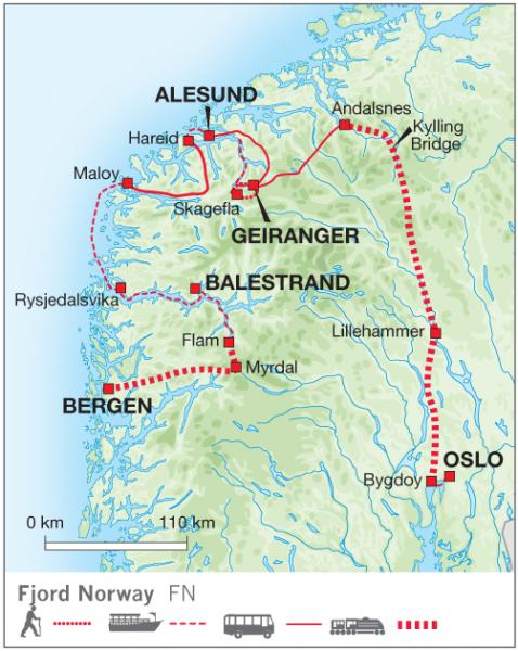 Fjord Norway National Park Traveller