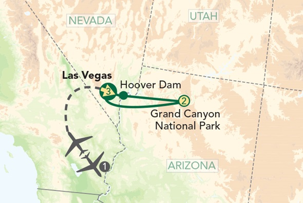 Las Vegas and the Grand Canyon National Park Traveller