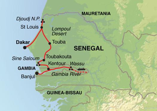 Wetlands of West Africa National Park Traveller