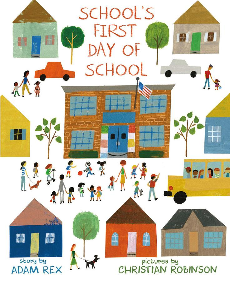 Image result for schools first day of school book