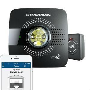 our take the myq smart garage hub by chamberlain