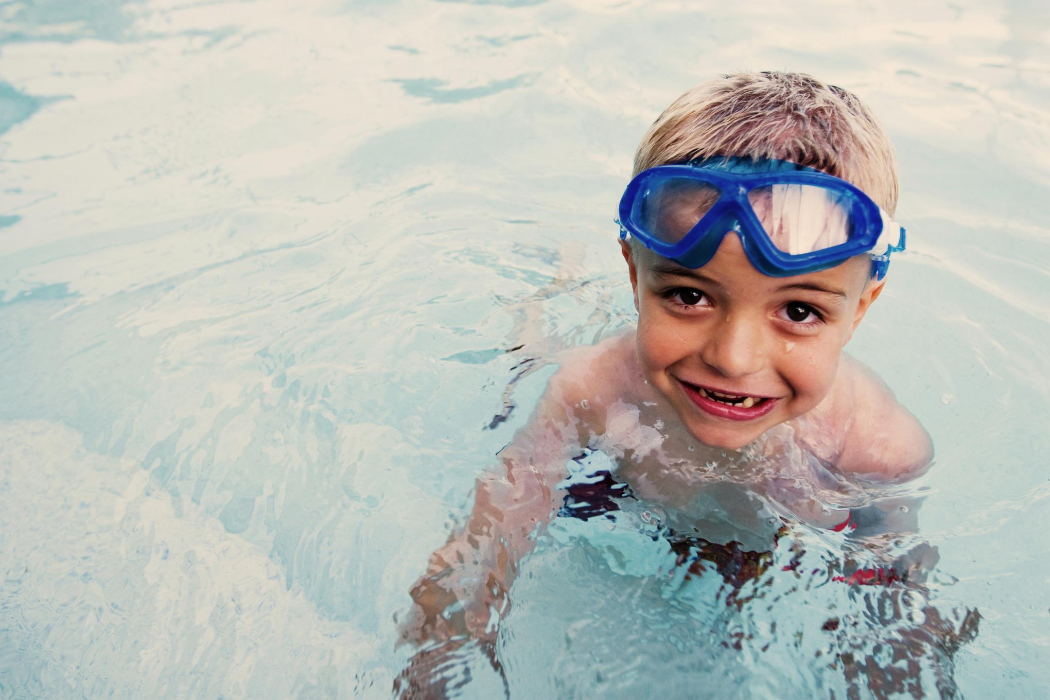 When are children water safe