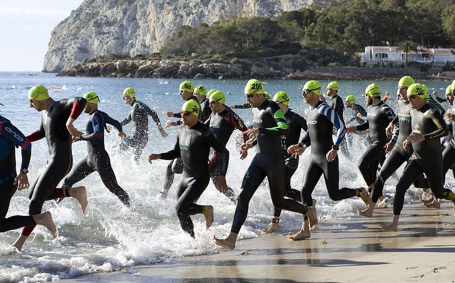 Can you swim Breaststroke in a Triathlon?